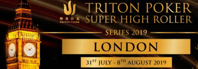 Triton Poker Series für Super High Roller in London 2019