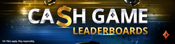 PartyPoker Cash Game Leaderboards