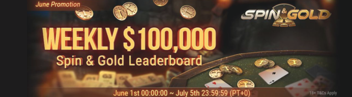 Weekly 100k Spin&Gold Races