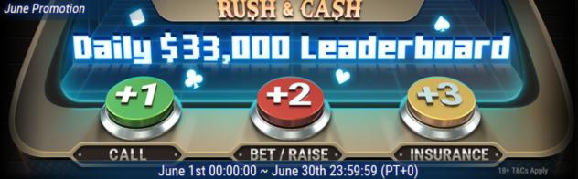 Daily Rush&Cash Races