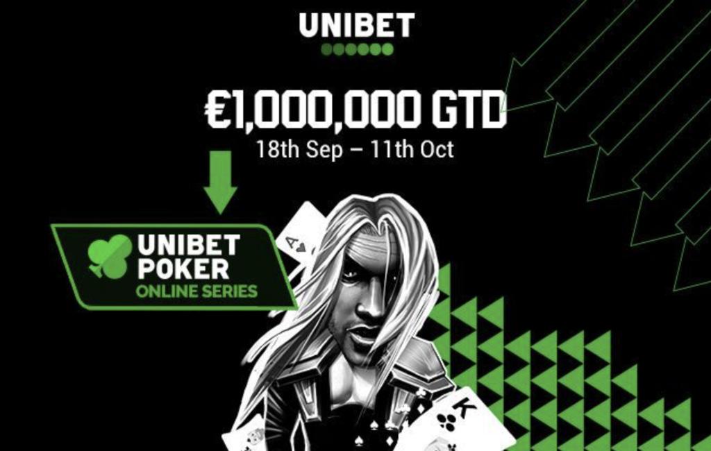 Серия онлайн-покера на Unibet